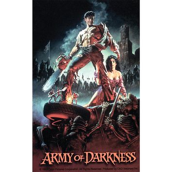 Army Of Darkness - Movie Poster Decal