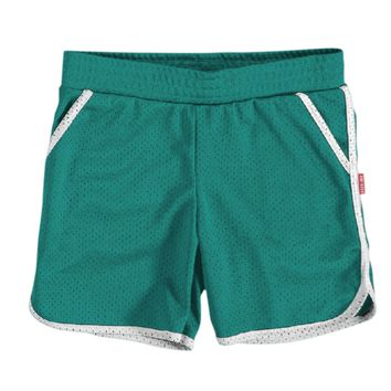 Mesh Mini Shorts Teal