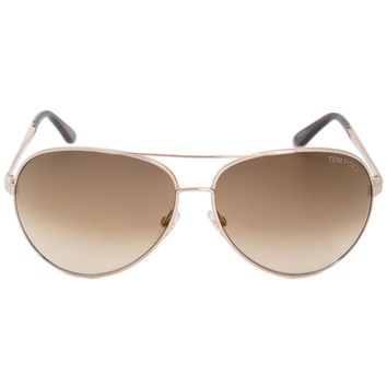 Tom Ford Charles Aviator Sunglasses FT0035 28G 62