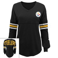 Pittsburgh Steelers Slub Jersey Tunic - Juniors