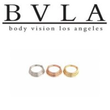 Body Vision BVLA 14k Gold Mini Moody Nose Nostril Septum Ring 16g [36-0057 BVLA14ktMiniMoody16g] - $528.00 : Diablo Body Jewelry, The Art of High Quality