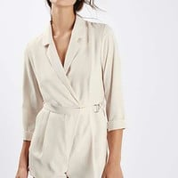 Wrap Front Playsuit - New In
