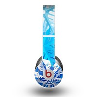 The Winter Abstract Blue Skin for the Beats by Dre Original Solo-Solo HD Headphones