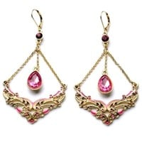 Nobel Cutout Drop Earrings - OASAP.com