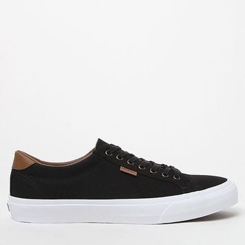 Vans Black and White Canvas Court Shoes at PacSun.com