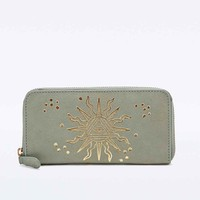 Leather Sun Wallet - Urban Outfitters