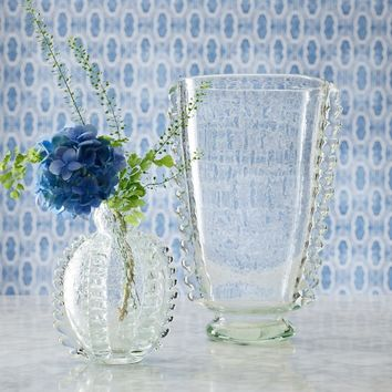 AERIN Glass Bubble Bud Vase