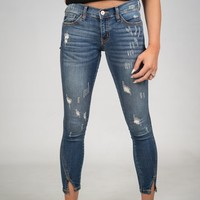Emma Distressed Kan Can Skinny Jeans