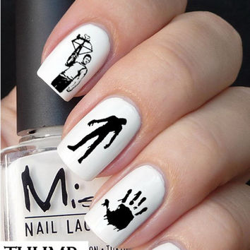 Walking Dead Nail Decal 50pc