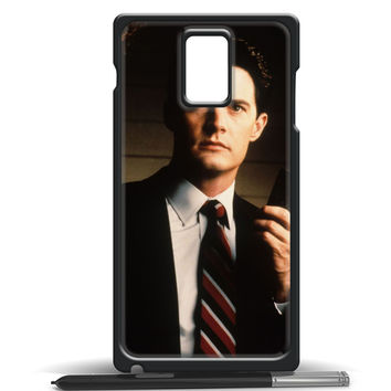diane twin peaks agent cooper for Samsung galaxy note 4 case
