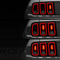 Raxiom Mustang Gen 5 Style Tail Lights 49169 (05-09 All) - Free Shipping