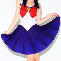 Women Summer Dress for Women Vestidos Casual Woman Costume 10 Color Sailor Moon Style Cosplay Costume Unique Gift Alternative Measures - Brides & Bridesmaids - Wedding, Bridal, Prom, Formal Gown