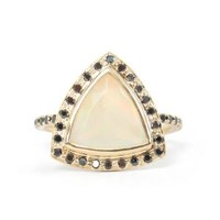 Catbird :: shop by category :: JEWELRY :: Delilah Ring, Opal and Black Diamonds