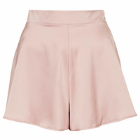 **HIGH WAISTED SATIN SHORTS BY OH MY LOVE
