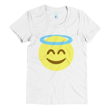 Emoji Clothing - Angel Emoji T-Shirt