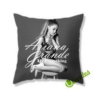 Ariana Grande My Everything Square Pillow Cover