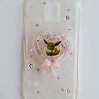 Eevee Samsung Galaxy S5 Sparkle Pokemon Phone Case