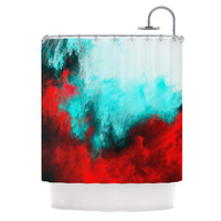 """Caleb Troy """"Painted Clouds III"""" Shower Curtain"""