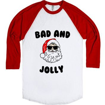 Bad Jolly Christmas Santa Shirt