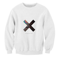 XX Coexist logo sweater White Sweatshirt Crewneck Men or Women for Unisex Size with variant colour