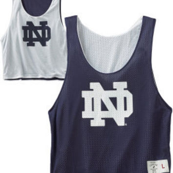 LEAGUE COLLEGIATE WEAR : F1222F Unisex Reversible Lacrosse Pinnie : Hammes Notre Dame Bookstore