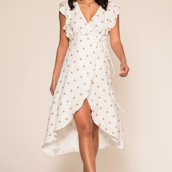 Sweet Remedy Wrap Dress
