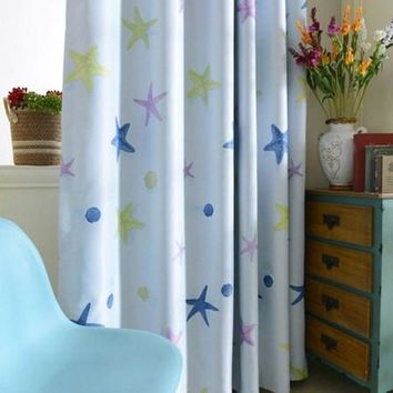 Kids Room Printed Window Curtains Blackout Curtains Window Treatment Drapes Home Decor