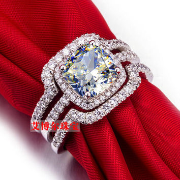 Best 3 Carat Engagement Ring Products on Wanelo