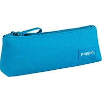 Poppin Pool Blue Pencil Pouch | Staples