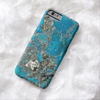 Natural Luxury Gemstone Turquoise Jewellery Barely There iPhone 6 Case