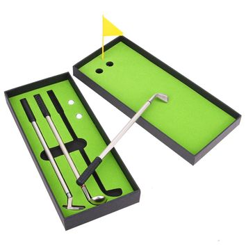 3pcs Mini Golf Clubs Pens set