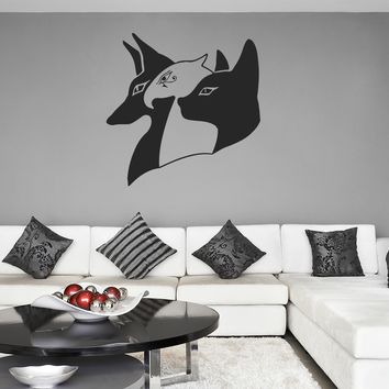 ik1006 Wall Decal Sticker egyptian gods anubis ra sekhmet bedroom