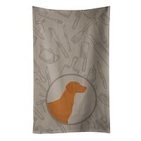 Vizsla In the Kitchen Kitchen Towel CK2215KTWL