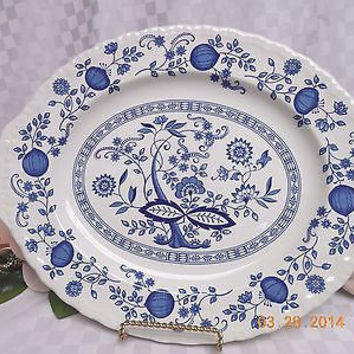 #Wedgwood China Dinnerware Enoch Blue Heritage Onion 14  Serving  sc 1 st  Wanelo : wedgwood china dinnerware - pezcame.com