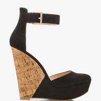 Colorblocked D'Orsay Wedges | FOREVER21 - 2036570316