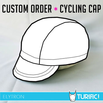 Custom Order ~ Cycling Cap ~ Elytron ~ You design it, we'll sew it!