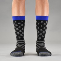 Tactical and Blue Line Crew Socks