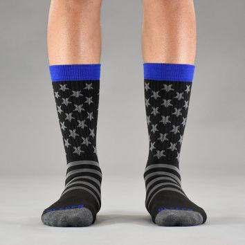 Tactical and Blue Line Soft Socks