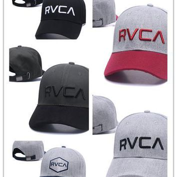 brand new RVCA snapbacks caps baseball hats for men/women sports hip hop brand bone gorras Adjustable
