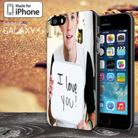 Niall Horan I Love You sign for iPhone 4 / 4s / 5 / 5s / 5c, Samsung Galaxy S3, S4, S5 Case