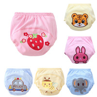 NEWBaby Waterproof Reusable cotton Diapers/Children Cloth Diaper/Reusable Nappies/Training Pants/Diaper Cover Washable P7 ZT