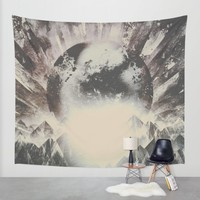 New day new mountains to climb Wall Tapestry by HappyMelvin
