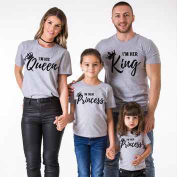 VIVEN™ High-Quality Throne Matching Family T-Shirts