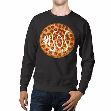5 Seconds Of Summer Pizza Unisex Sweaters - 54R Sweater