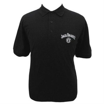 Jack Daniels Embroidered Golf Shirt Polo-medium