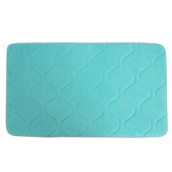 80x50cm Absorbent Anti Slip Memory Foam Carpet Bath Rug Coral Velvet Chronic Rebound Floor Mat