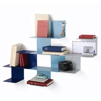 MONOQI | Linette Wall Shelves - Blue