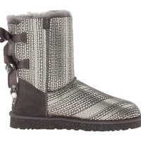 UGG Bailey Bow Bling Grey - Zappos.com Free Shipping BOTH Ways