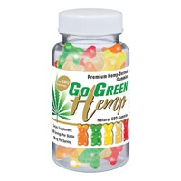 Gogreen Hemp Premium CBD Gummy Bears 10mg