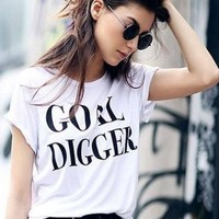 """""""Goal Digger"""" Graphic Tee"""